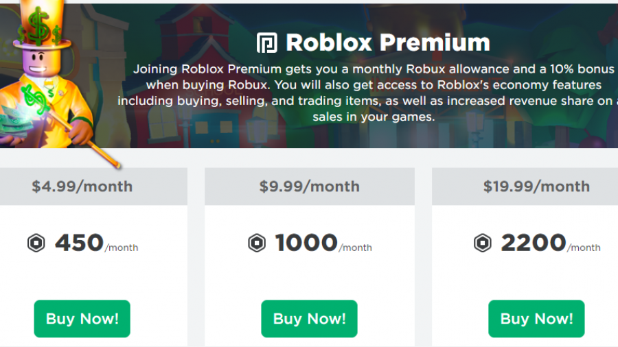 Builders Club Prices For Roblox